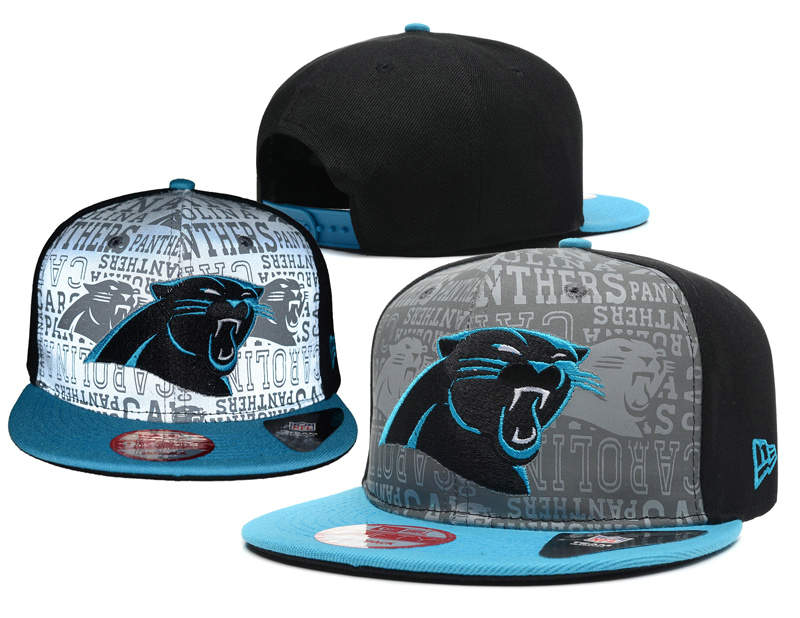 Carolina Panthers 2014 Draft Reflective Snapback Hat SD 0613